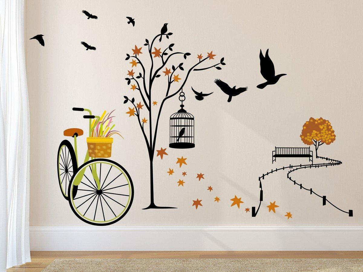 Gør din bolig personlig med wallstickers